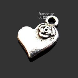 2 Breloques /_ TROUSSEAU DE CLES CLE 26x13mm /_ Perles charms création bijoux B125