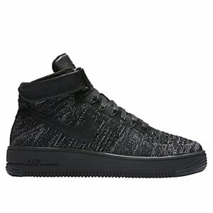 NIKE WOMENS AF1 FLYKNIT AUTHENTIC HI-TOP FASHION SNEAKERS #818018-002 RETAIL0