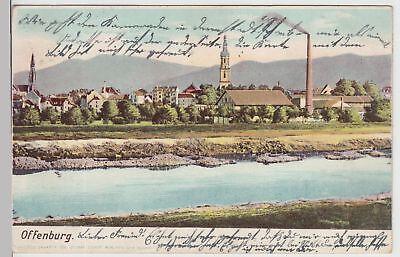 (115076) Ak Offenburg, Panorama 1905