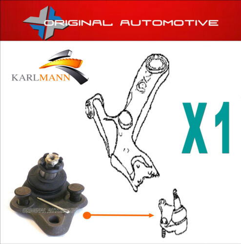 FITS TOYOTA COROLLA 97-07 FRONT LOWER BALLJOINT X1
