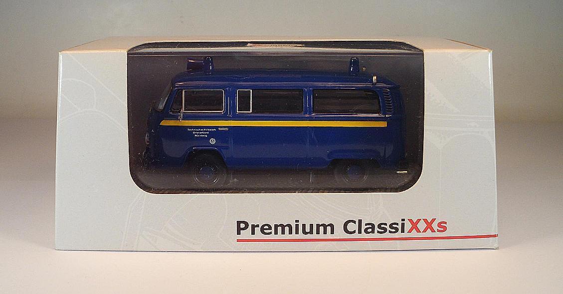 Premium classixxs 1 43 no 11752 Volkswagen Volkswagen Volkswagen VW t2b matrícula autobús THW OVP  3097 e7b706
