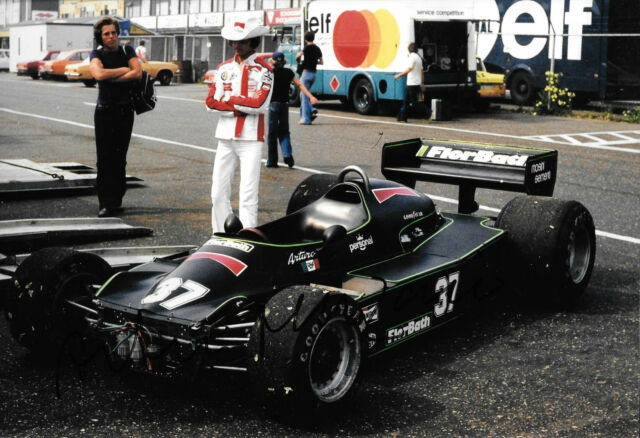 Arturo Merzario firmata 12x8 F1 MERZARIO A1, Italiano GP MONZA 1978