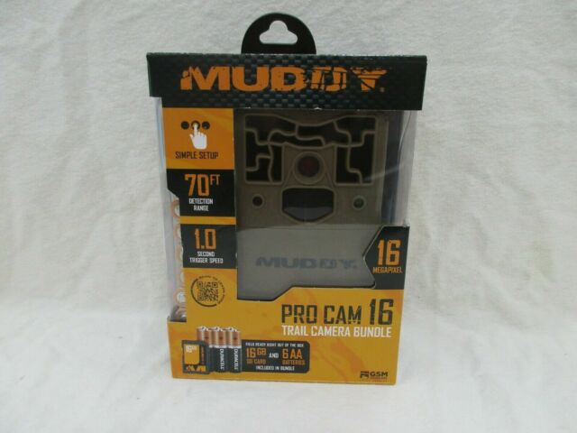 MUDDY PRO CAM 16 TRAIL CAMERA 16MP -(EB100)