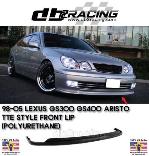 98-05 TTE Style Lexus GS300//GS400//GS430 Front Lip Urethane ARISTO JDM VIP