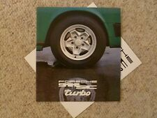 1978 Porsche 911 DELUXE Showroom Advertising Sales Brochure RARE!! Awesome L@@K