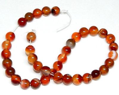 Citrine /& Carnelian  Drilled Beads Lot