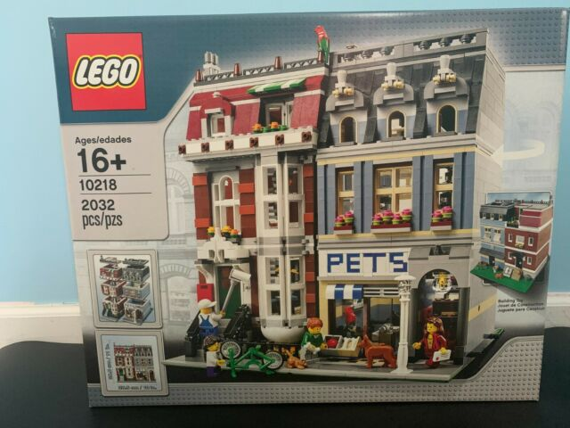 Lego Creator Pet Shop Set #10218 New Factory Sealed Retired *Real Item Pictures