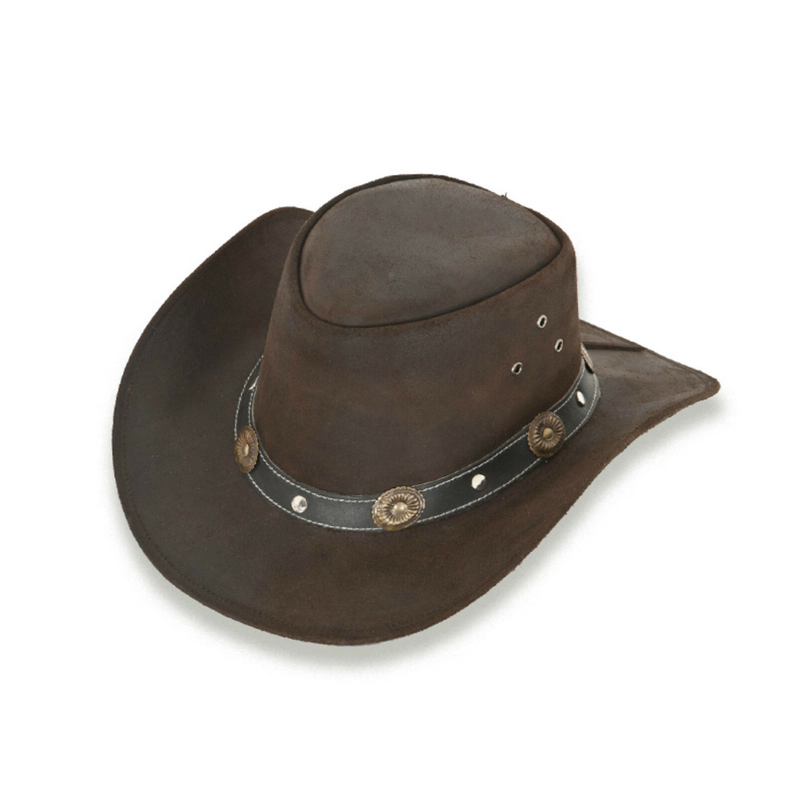 LODENHUT  RENO Australien Leather Hat Lederhut Cowboyhut Westernhut Country Hut