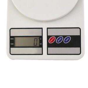 Bilancia Digitale Da Cucina Elettronica Lcd Tasto Tara Casa Pesa Da 1 Gr A 7 Kg-