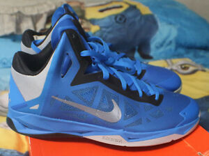 best service cdd1b b11a2 Image is loading Nike-Zoom-Hyperchaos-Photo-Blue-Wolf-Grey-Black-