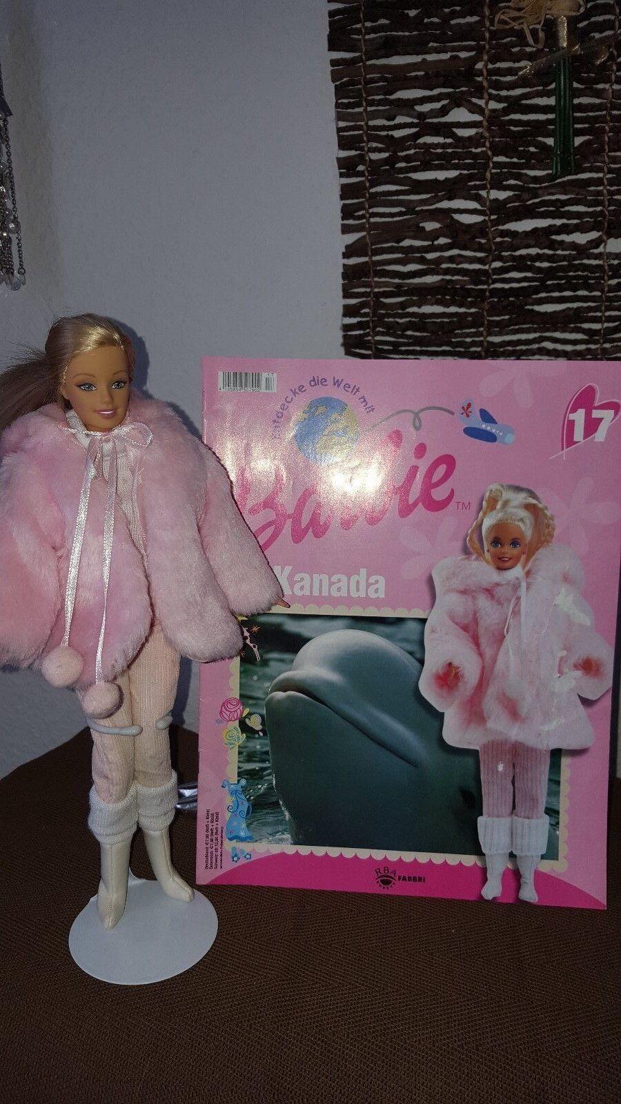 Entdecke die Welt mit mit mit Barbie Heft 17Kanada  Barbie & Kleidung 2392d0