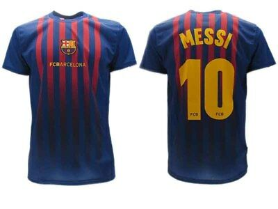 2019 Nieuwste Ontwerp Maglia Ufficiale Leo Messi Taglia 6 Anni Barcellona Barcelona Maglietta Years 5