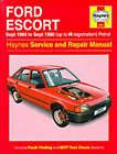 Ford Escort (Petrol) 1980-90 Service and Repair Manual by John S. Mead (Hardback, 1995)