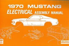 1970 Ford Mustang Mach 1 Body Assembly Manual Ebay