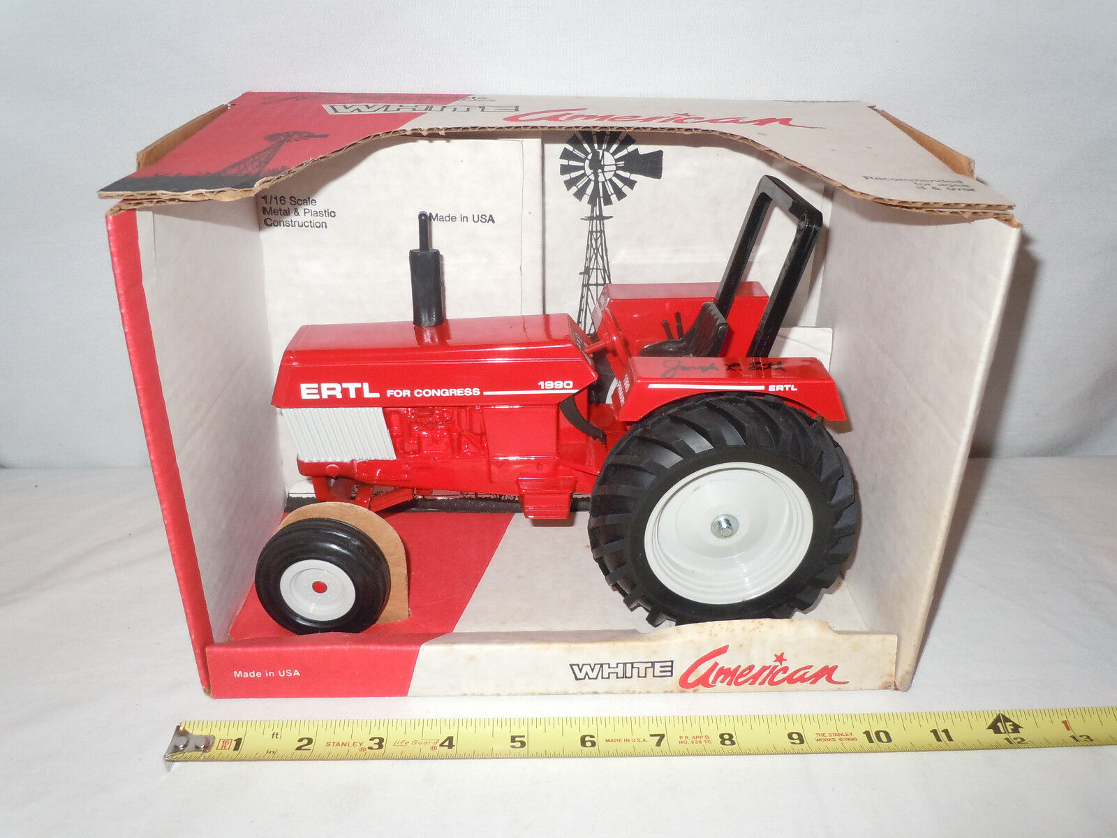 Weiß 1990 Ertl For Congress Tractor By Scale Models 1 16th Scale