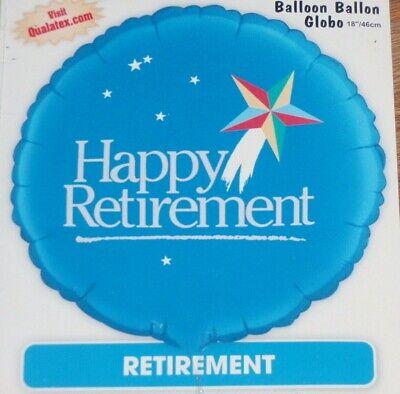 Happy Retirement Foil Balloon Medium New