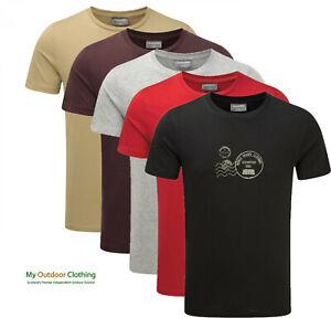Craghoppers-CMT825-Mens-Graphic-Short-Sleeve-T-shirt-100-Cotton-Tee-t-shirt