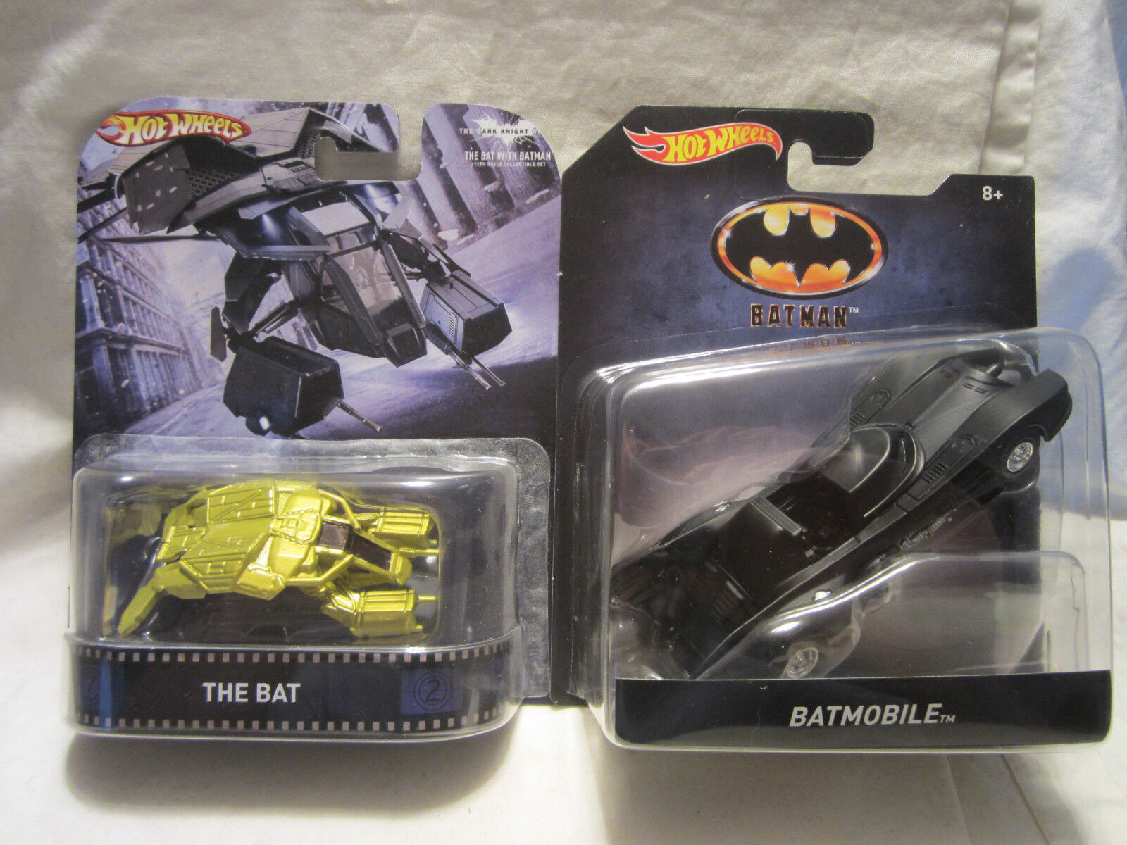 Hot Wheels Personnalisé The Bat Véhicle & Batman Batmobile