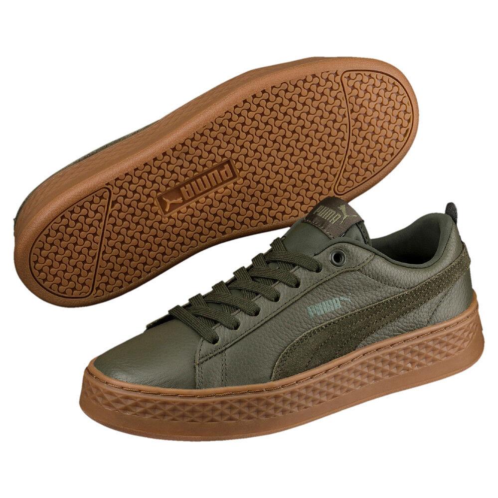 8de4b534c12d2 Puma Puma Puma Femmes Smash Platform 366487 Forest Night 05 Retro Fashion  Lifestyle Sneaker 4bde78