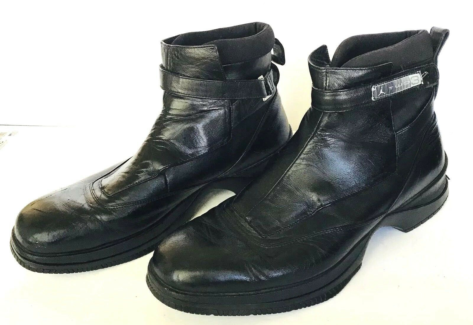 NIKE AIR JORDAN ELEGANTE TWO3 LEATHER BLACK ANKLE ANKLE ANKLE BOOTS MENS SIZE 11 HTF 950163