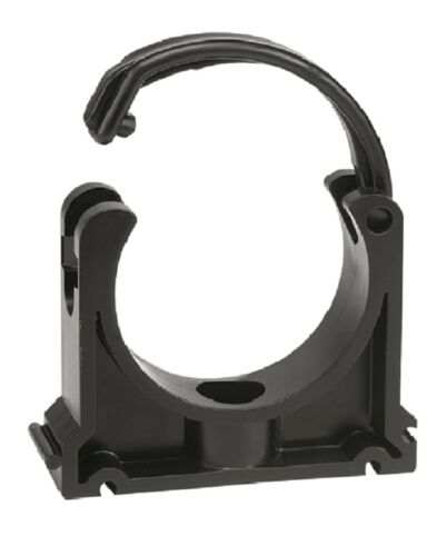 40mm VDL Pipe Clips with Clip Clamp x 10