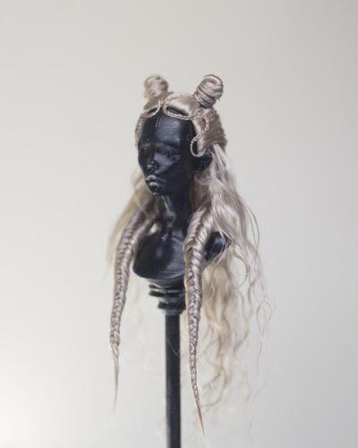 Agora chèvre Bjd wig for Chimera poupée