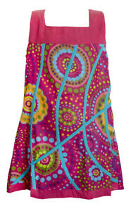 Detalles De Vestido Ropa Niña Hippie Prenda De Vestir Coloridos 100 Algodón Ref J 15