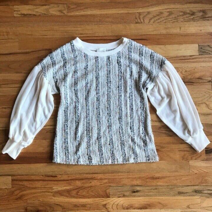 ANTHROPOLOGIE Deletta Textured Knit M - image 3