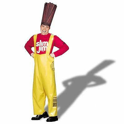 Mens Slim Jim Halloween Costume Adult One Size Funny Costume FLAWED