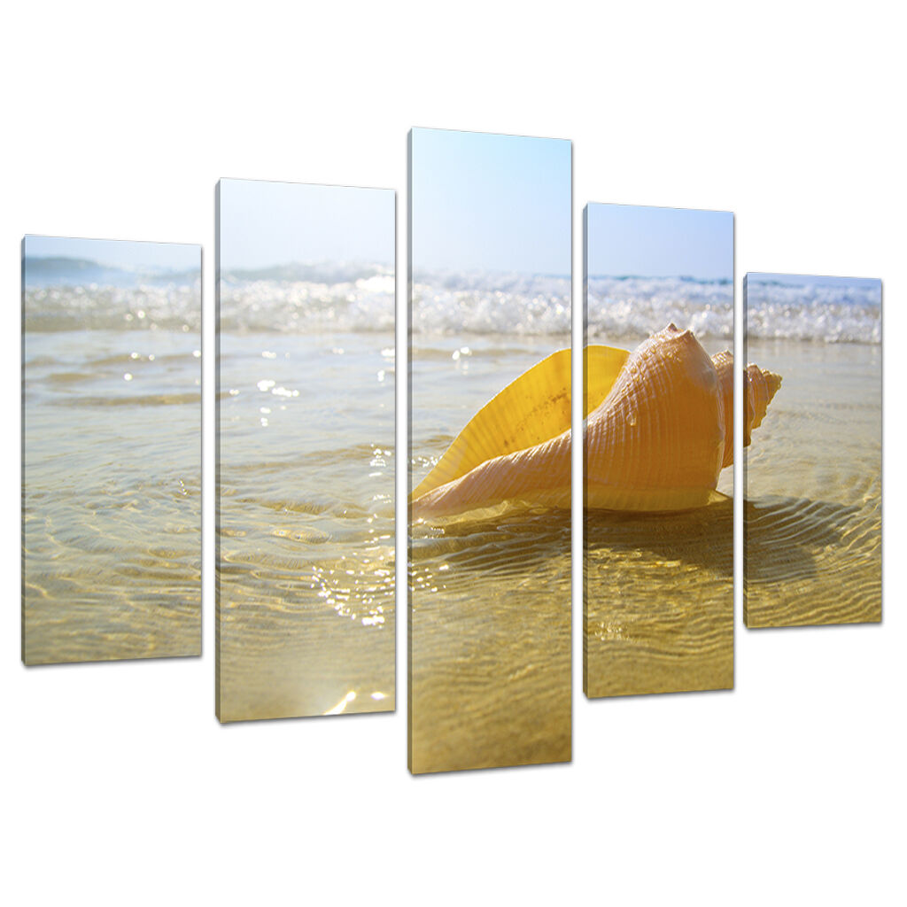 5 partie plage coucher de soleil toile     chambre salle de bain mur art set 5148 4fbee1