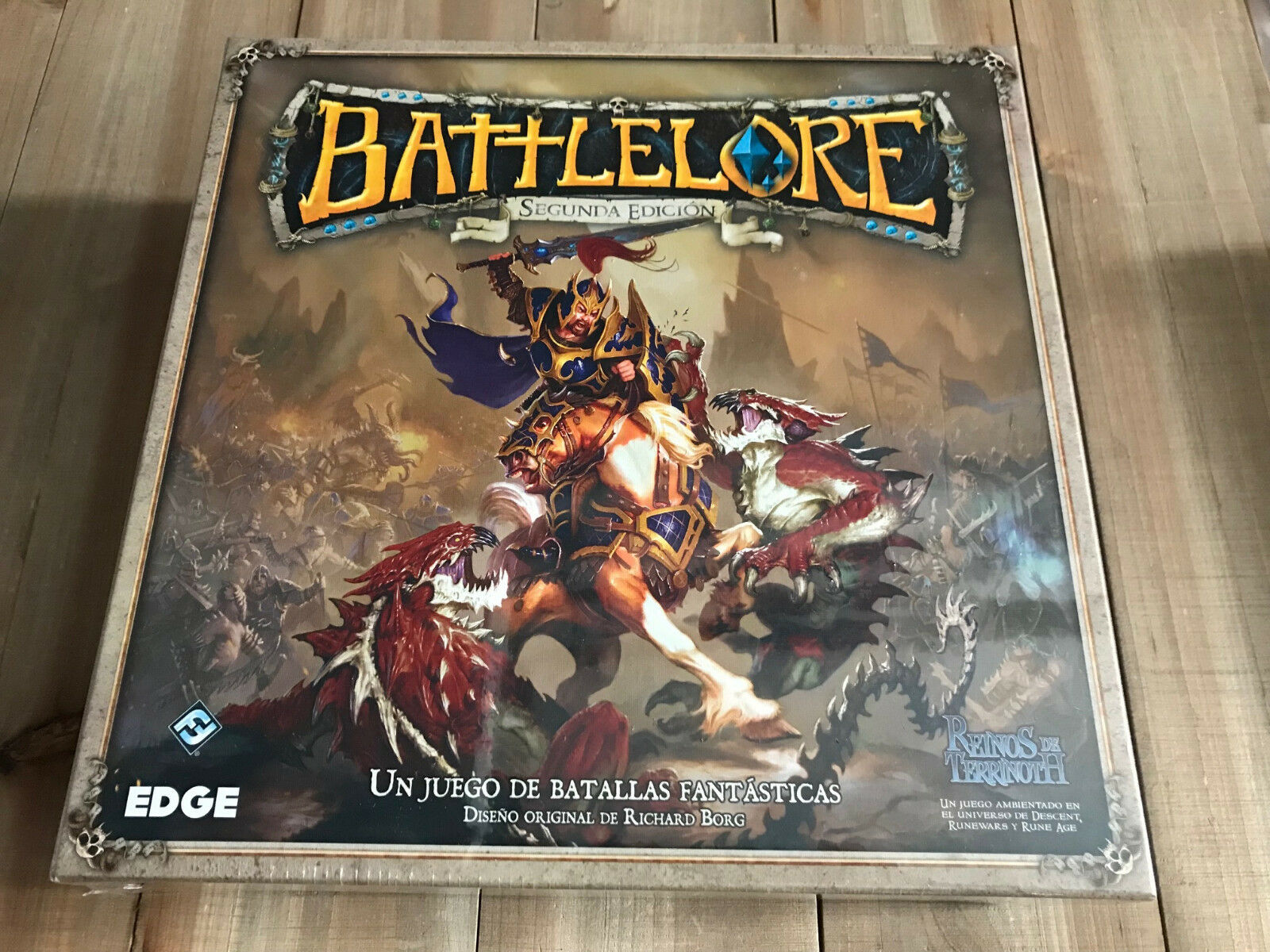 Battlelore - Box Basic - Second Edition - Ffg - Edge - Kingdoms of Terrinoth