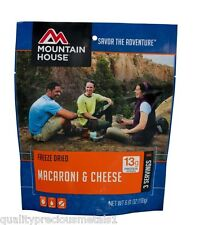 1 - Mountain House Freeze Dried Food Pouch - Macaroni & Cheese
