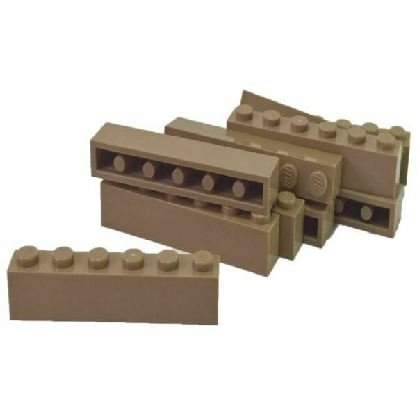 Lego 6x Stein 1x6 Weiß White Brick 3009 Neuware New