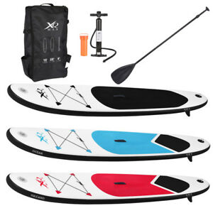Paddle-Board-10ft-Sports-Surf-Inflatable-Stand-Up-Water-Racing-SUP-Bag-Pump-Oar