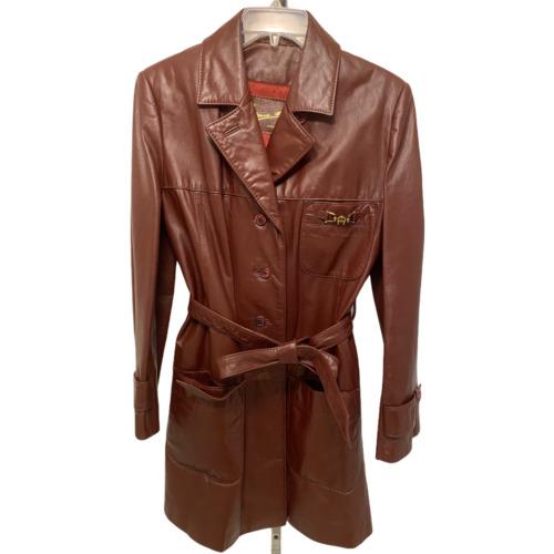 Vintage Etienne Aigner Women's 100% Leather Coat/J