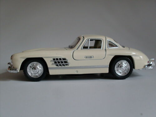 1954 Mercedes-Benz 300 SL Coupe weiss Auto Modell ca.1:36