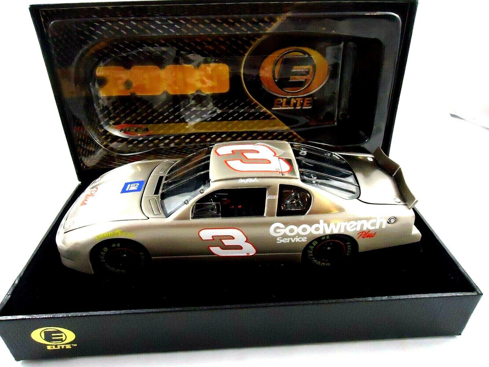 NASCAR Action RCCA Elite Dale Earnhardt Test car Goodwrench Plus 1 24 2000