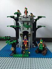 LEGO 6077 Forestmen 's River Fortress Robin Hood Burg Ritter 100% Komplett