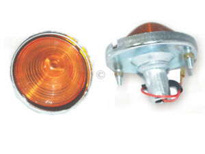 NEW WILLYS JEEP CJ-3B CJ3 CJ5 CJ6 TURN SIGNAL AMBER LIGHT INDICATOR