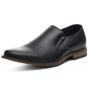 Alpine-Swiss-Double-Diamond-Mens-Leather-Loafers-Oxford-Slip-on-Dress-Shoes