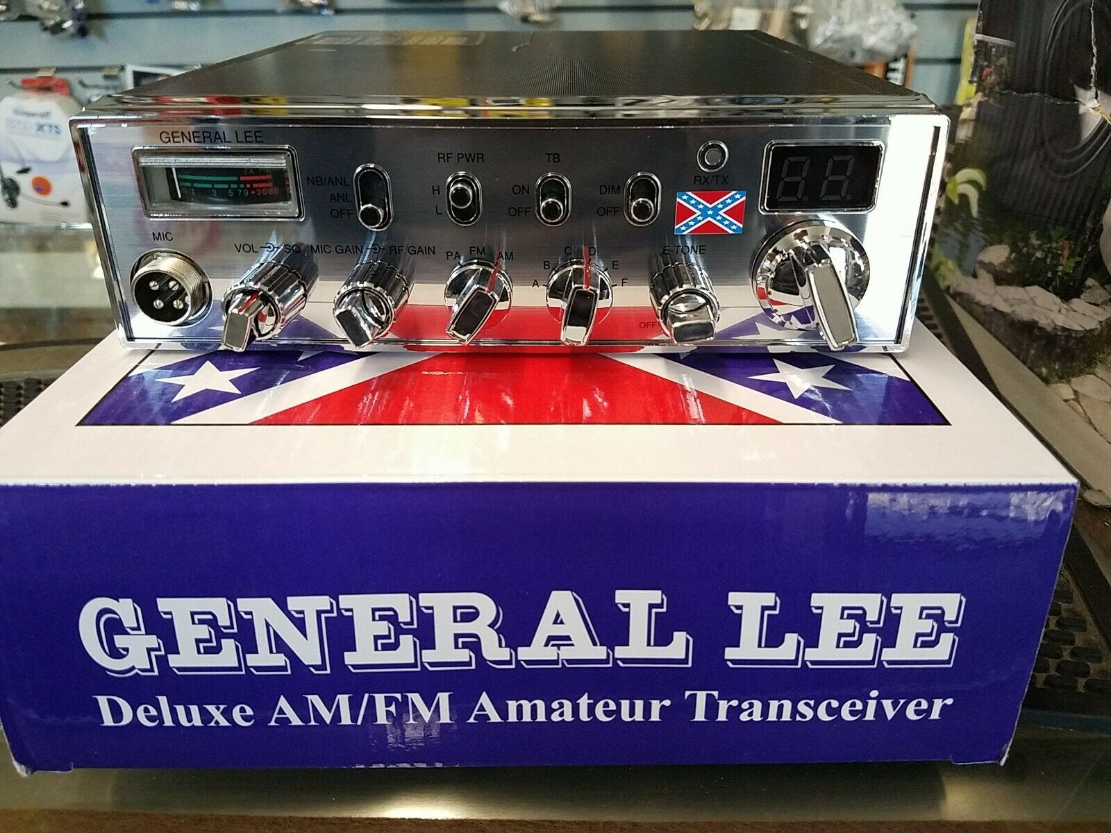 General Lee CB Radio . Buy it now for 245.00