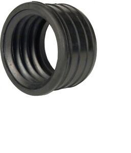 "110mm 4/"" Long Boss Pipe 50mm 55mm Rubber Waste Pipe Adaptor GREY"