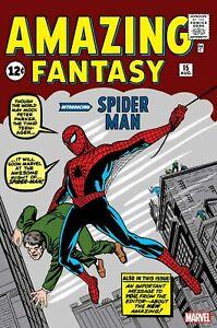 AMAZING-FANTASY-15-FACSIMILE-EDITION-MARVEL-COMICS-Reprint-1ST-PRINT