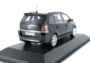 OPEL-ZAFIRA-B-OPC-Vauxhall-Zafira-B-VXR-1-43-Minichamps-Modelo-de-Coche-MPV-Raro