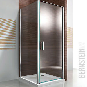 duschkabine dusche eckdusche nano glas echtglas ex416 90x90x195cm ebay. Black Bedroom Furniture Sets. Home Design Ideas