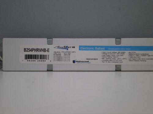 2 Universal B254PHRVHB-E Electronic 347-480-Volt Ballast for F54T5//HO FT55W