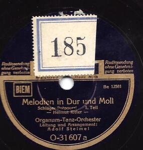 TANZ-ORCH-ADOLF-STEIMEL-Melodien-in-Dur-und-Moll