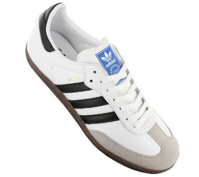 9f18fe41a NEW adidas Samba Leather OG BB2588 Men''s Shoes Trainers Sneakers SALE