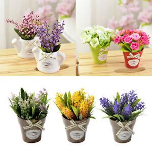 Hot Small Bonsai Artificial Plants Vaseflower Plant Home Wedding