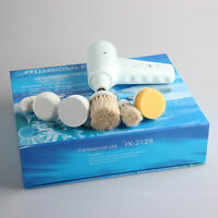 Hot 5-1 Multifunction Electric Face Facial Cleansing Brush Spa Skin Care Massage